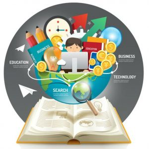 Open book infographic innovation idea on world vector illustration. business education concept.can be used for layout, banner and web design.